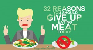 32 reasons to give up eating meat