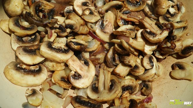 fried-mushrooms-vegan-pasta-recipe