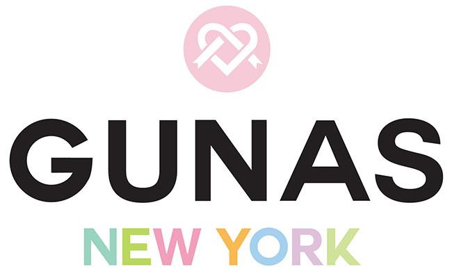 GUNAS logo vegan handbags