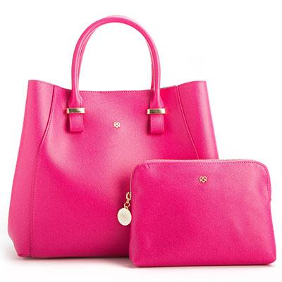 jane vegan handbag with clutch purse
