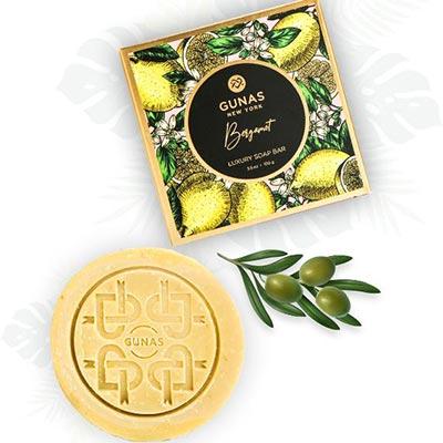 Bergamot GUNAS vegan soap